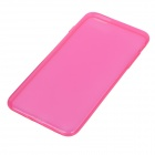 "Ultra Thin Protective TPU Back Case Cover for IPHONE 6 PLUS 5.5"" - Deep Pink + Translucent"
