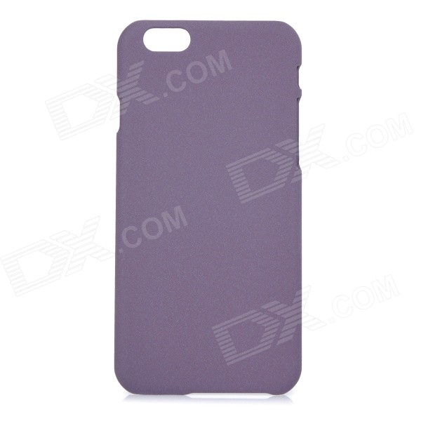 Frosted Matte Protective PC Back Case Cover for IPHONE 6 4.7 - Purple elegant white lace wedding shoes high heel bridal shoes pumps stilettos ladies slip on women pumps shoes actual photo 2016 new