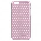 "Hollowed Stars Pattern PC Back Case for IPHONE 6 4.7"" - Pink"