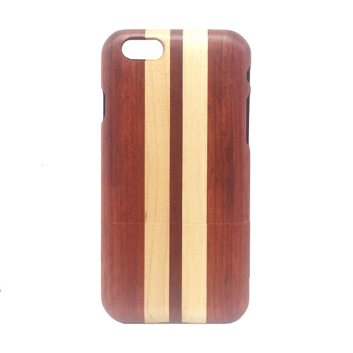 Detachable Protective Wood Back Case for IPHONE 6 4.7