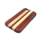"Detachable Protective Wood Back Case for IPHONE 6 4.7"" - Brown + Yellow"