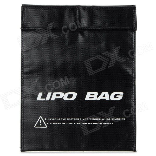 Anti-explosion Safety Guard Protective Storage Bag for R/C Toys - Black недорого