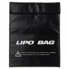 Anti-explosion Safety Guard Protective Storage Bag for R/C Toys - Black