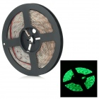SENCART Waterproof 90W 6800lm 300-SMD 5730 LED Green Light Strip - White + Transparent (5M / DC 12V)