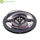 SENCART 30W 1200lm 490nm 300-SMD 3528 LED Blue Light Strip - White + Transparent (5M / DC 12V)