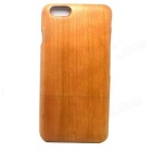 "LS-I6 Retro Protective Cherry Wood Back Case for IPHONE 6 4.7"" - Light Brown"