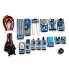 Waveshare Gas + Flame + Color + Temperature + Laser + Sound Sensor Kit Set for Arduino