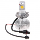FH01 H4 25W 2-Mode 2400lm 6000K White Light Car Headlight w/ 2 x CREE LED (DC 12~24V / 2 PCS)