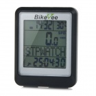 "Bikevee Water Resistant 20-Function 1.6"" Screen Wired Electronic Bike Computer - Black (1 x CR2032)"