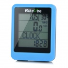 "Bikevee Water Resistant 20-Function 1.6"" Screen Wired Electronic Bike Computer - Blue (1 x CR2032)"