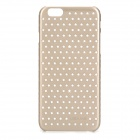 "Hollowed Stars Pattern PC Back Case for IPHONE 6 4.7"" - Champagne"