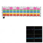 LIT 45 x 11cm Car Decorative Voice Sensor Sound Controlled 5-Color LED Light Sticker - Multicolored