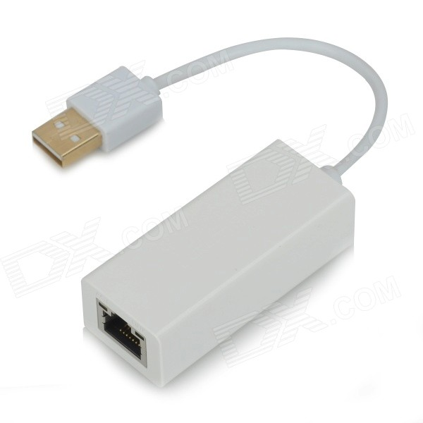 UGreen 20257 USB 2.0 Wired 100Mbps Network Card Adapter - White