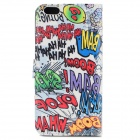 Graffiti Pattern Suojaava TPU + PU Flip Open Case w / korttipaikkaa iPhone 6 PLUS 5.5 ""