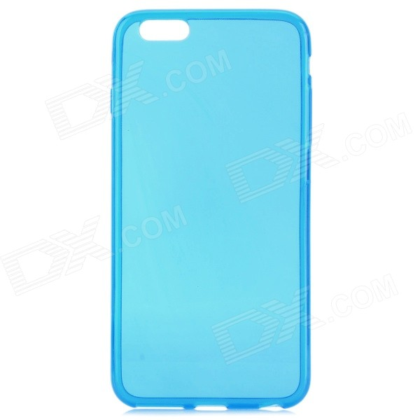 Protective TPU Back Case for IPHONE 6 PLUS 5.5 - Translucent Blue mercury goospery blue moon magnetic leather case for iphone 6s plus 6 plus dark blue