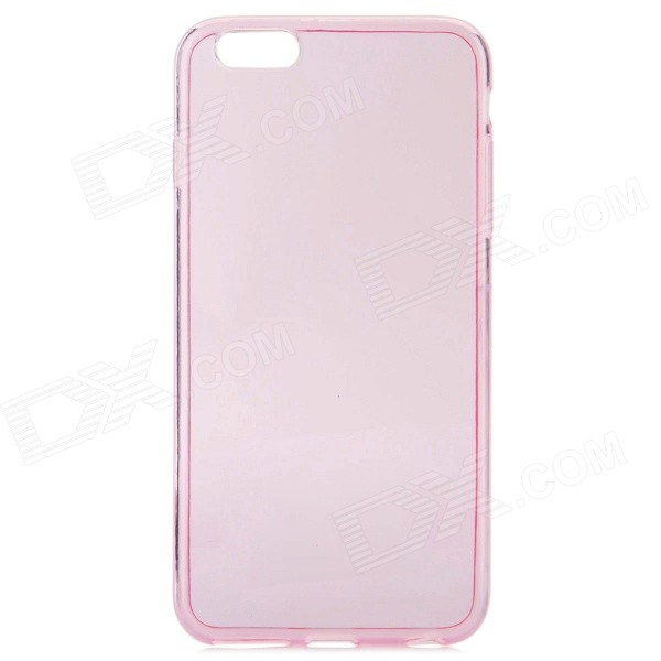 "Protective TPU Back Case for IPHONE 6 PLUS 5.5"" - Translucent Pink"