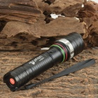 UltraFire 900lm 5-Mode White Zooming Flashlight w/ Cree XM-L T6 / Car Charger / US Plugs Charger