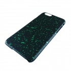 "Protective Matte PC Back Case for IPHONE 6 4.7"" - Black + Green"