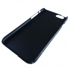 "Protective Matte PC Back Case for IPHONE 6 4.7"" - Black + White"