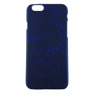 "Protective Matte PC Back Case for IPHONE 6 4.7"" - Black + Deep Blue"