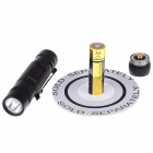 HUGSBY P31 HA-III 160-Lumen 3-Mode LED Flashlight with Clip (1*AA)