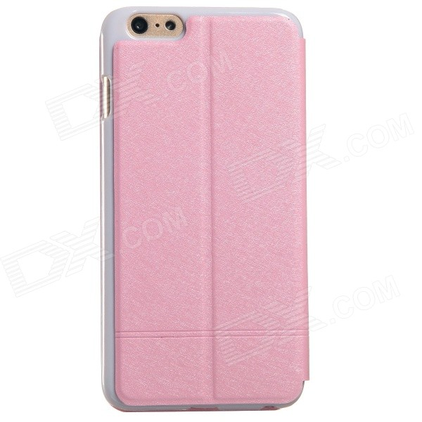 все цены на KALAIDENG Protective PU Leather Case Cover Stand for IPHONE 6 Plus - Pink онлайн