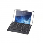 Colorful Backlight Bluetooth V3.0 Keyboard Case for IPAD MINI - Black