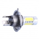 H4 11W 360lm 6000K White Foglight w/ 1-CREE XP-E + 4- COB LED for Car (DC10-24V)