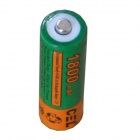CEL AA1800 1.2V 1300mAh Rechargeable AA NiMH Battery - Green + Orange