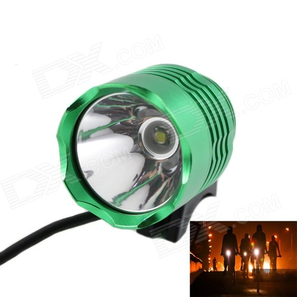 KINFIRE U2 4.2~12V DIY 600lm 3-Mode White Bicycle Car Motorcycle Lamp w/ CREE XM-L T6 - Green