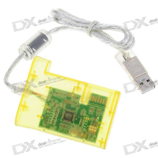 USB Hard-Drive Transfer Kit for the Xbox 360 (Translucent Yellow)