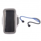 "NEJE Waterproof Sports Armband Case + Hands-free Stereo Headset for IPHONE 6 4.7"" - White"