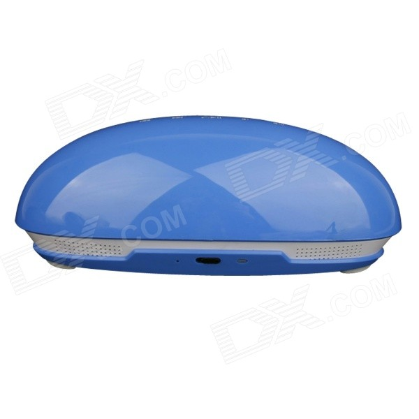TOZ Beetle Style Dual-Mode Bluetooth V4.0 Multimedia Player Speaker - Blue + White showcase presents blue beetle volume 1