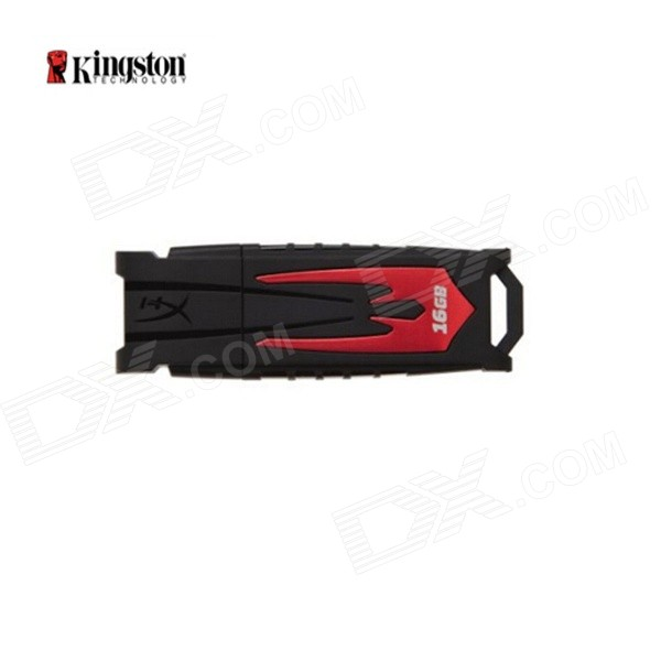 USB Kingston HyperX HXF30 FURY digital 3.0 Flash Drive - Rojo Oscuro + Negro (16 GB)
