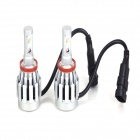 ZnDiy-BRY 3HL-H8 H8 40W 1800LM 6500K Cool White Light HID Head Lamp for Car(12~24V / 2 PCS)