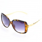 BD4009 Women's Fashionable PC Lens UV400 Protection Sunglasses - Yellow + Black + Grey