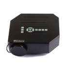 UC30 30W Portable Mini LCD HD Projector w/ SD / AV / VGA / HDMI / Micro USB / EU Plug - Black