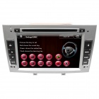 "LsqSTAR 7"" Touch Screen 2-DIN Car DVD Player w/ GPS FM RDS 6CDC Canbus AUX for Peugeot 408/308/308SW"