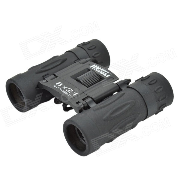 8x Water Resistant FMC Green Film + Blue Film Portable Pocket HD Night Vision Binoculars Telescope