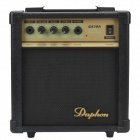 Daphon GA10A 10W 40dB Guitar Amplifier w/ Volmue, Bass, Treble, Phone Functions & LED Indicator