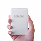 MOCREO Universal Ultra-fino portátil 2000mAh Li-po Power Bank w / built-in Micro cabo USB - Branco