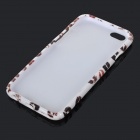 "Red Lips Pattern Protector TPU Back Case pour IPHONE 6 4.7 ""- Blanc + Rouge + Multicolore"