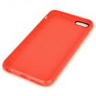 "Holes Pattern Protective TPU Back Case for IPHONE 6 PLUS 5.5"" - Red"