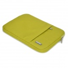 "POFOKO Protective Nylon Sleeve Bag w/ Zipper for MacBook Air 11.6"" Laptop - Green"