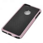 "Protective Silicone + PC Back Case for IPHONE 6 PLUS 5.5"" - Pink + Black"