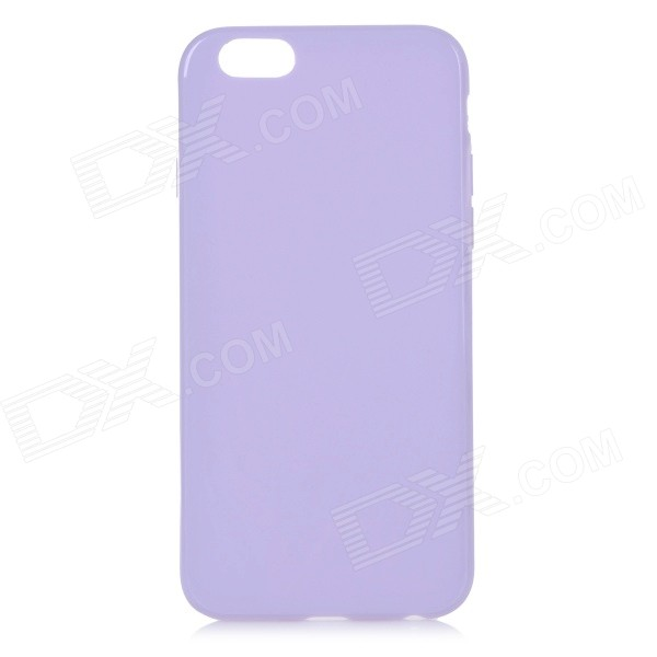 Protective TPU Back Case for IPHONE 6 4.7 - Light Purple glossy tpu gel back protection case for iphone 7 plus light purple