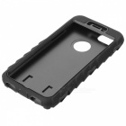 "3-in-1 Protective ABS + Silicone Back Case for IPHONE 6 4.7"" - Black"