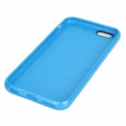 "Holes Pattern Protective TPU Back Case for IPHONE 6 4.7"" - Blue"