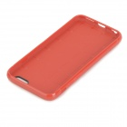 Holes Patterned Protective TPU Back Case Cover for IPHONE 6 - Red