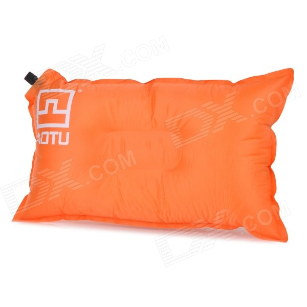 AOTU AT6222 Outdoor Camping Travelling Auto Air Inflatable Cushion Pillow - Orange - DXTravelling Needs<br>Color Orange Brand OthersAOTU Model AT6222 Quantity 1 Set Material Polyester + PVC Pillow type Neck Pillow Type OthersPillow Packing List 1 x Pillow<br>
